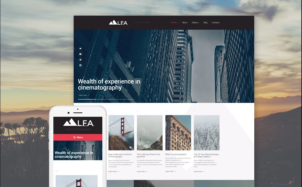 LFA WordPress Theme
