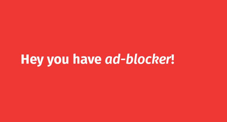 Block Ad-Blocker  ?
