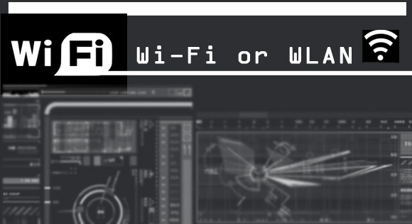 Wi-Fi or Wireless-LAN (WLAN)