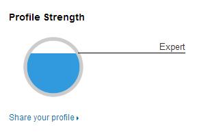 Linkedin Progress Bar