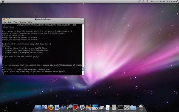 install mac ubuntu