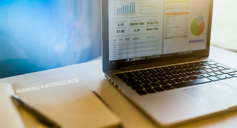 Managing a Business Blog