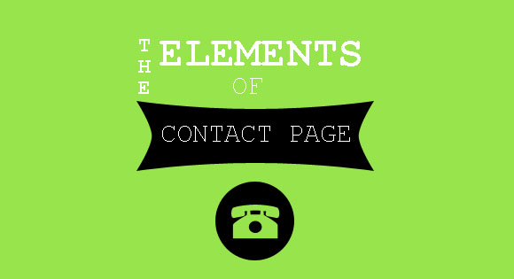 The Elements of a Contact Page