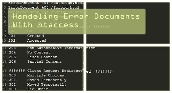 Redirect your Traffic for Error handeling