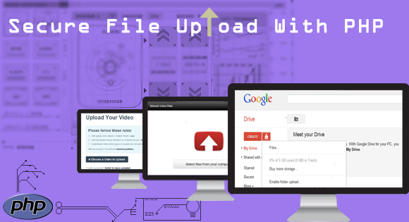 Single File Upload  With PHP