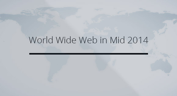 World Wide Web in the Middle of 2014