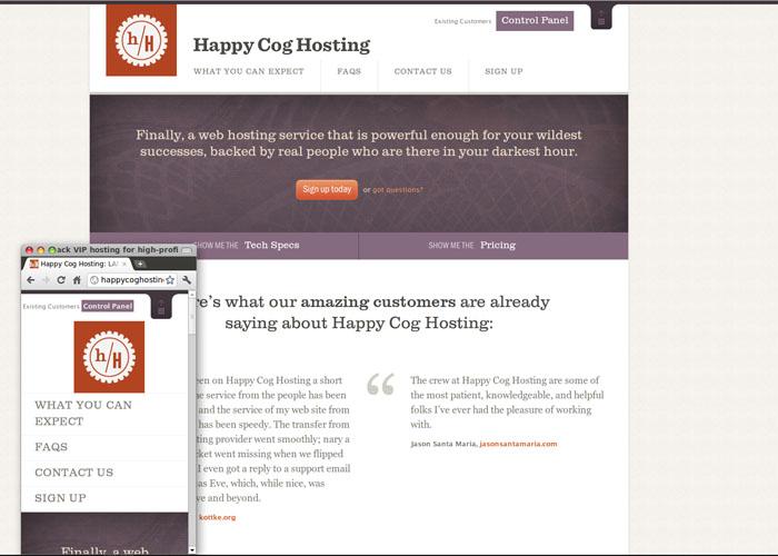 Happy COG Hosting